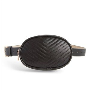 Handbags - Slim faux leather belt bag